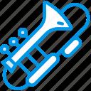 sound, orchestra, instrument, music, trombone, tune