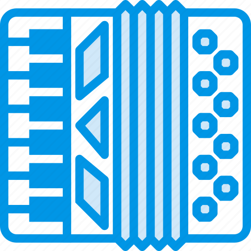accordion, instrument, music, sound, tune icon