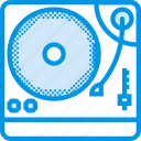 instrument, music, sound, tune, turntable icon