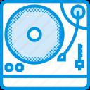 sound, instrument, turntable, music, tune
