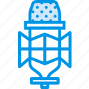 condenser, instrument, microphone, music, sound, tune, voice icon