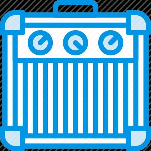 amplifier, guitar, instrument, music, sound, tune icon