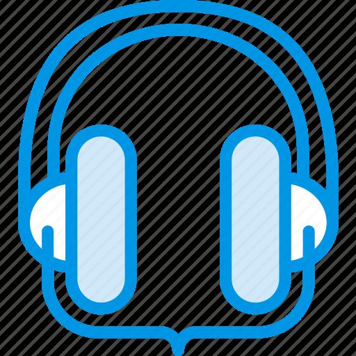 headphones, listen, music, sound, studio, tune icon
