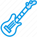electric, guitar, instrument, music, orchestra, sound, tune icon