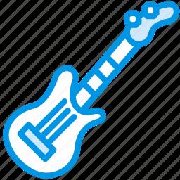 electric, guitar, instrument, music, orchestra, sound, tune icon