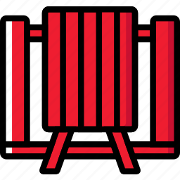bench, camping, outdoor, picnic, travel icon