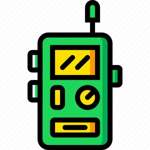 camping, outdoor, talkie, travel, walkie icon