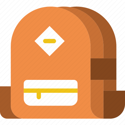 backpack, camping, outdoor, travel icon