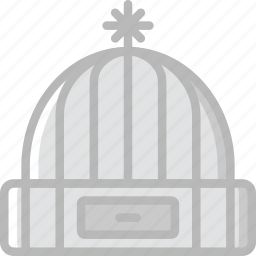 camping, hat, outdoor, travel, winter icon