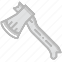 travel, outdoor, camping, axe icon