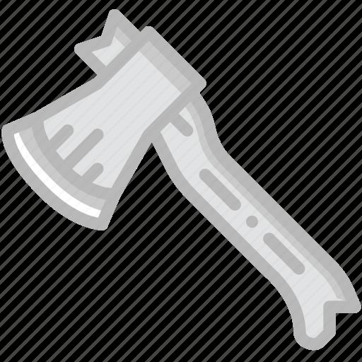 axe, camping, outdoor, travel icon