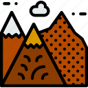 camping, landscape, outdoor, travel icon