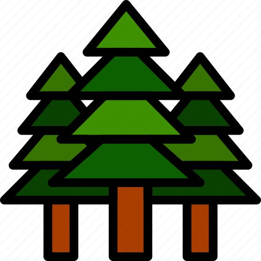 Camping, outdoor, travel, trees icon - Download on Iconfinder