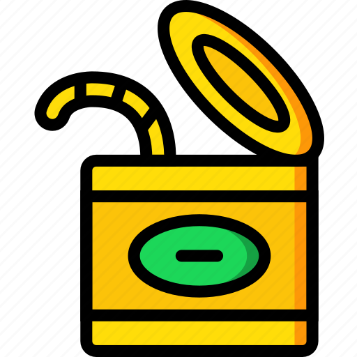 camping, fishing, outdoor, travel, worms icon