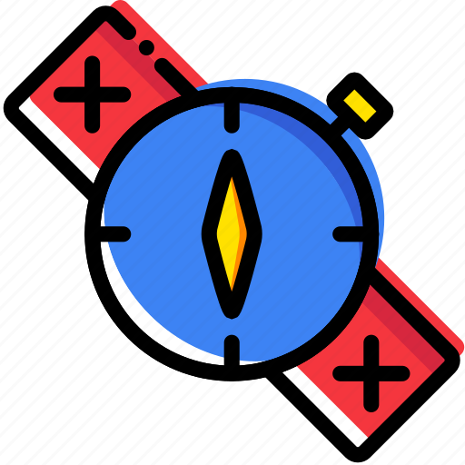 compass, forest, outdoor, survival, wild icon