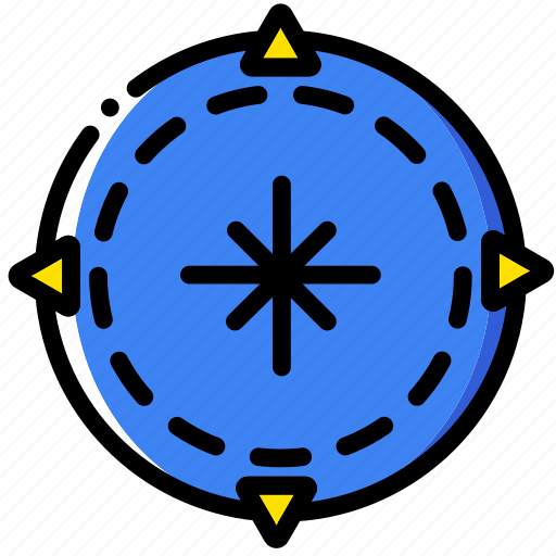 compass, forest, outdoor, wild icon