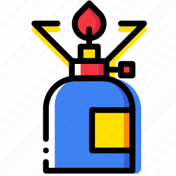 cooker, forest, gas, outdoor, wild icon