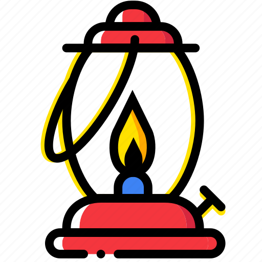 forest, gas, lamp, outdoor, wild icon