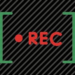 photography, record, recording, video icon