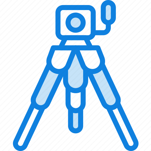 camera, photography, record, tripod, video icon