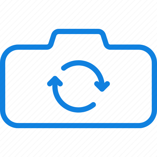 camera, photography, record, rotate, video icon