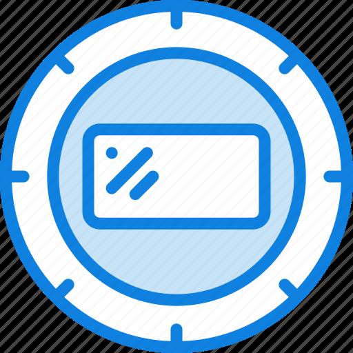 Lens, record, photography, camera, video icon