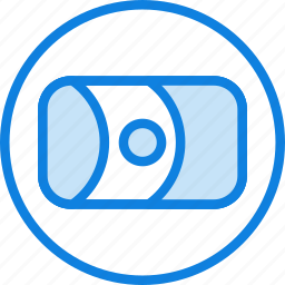 camera, lens, photography, record, video icon