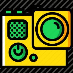 go, photography, pro, record, video icon