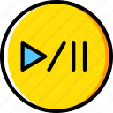 photography, play, record, video icon