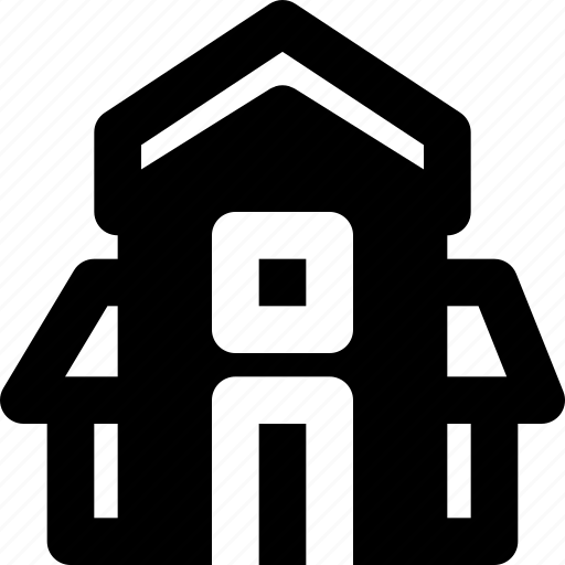 estate, home, house, property, real, triplex icon