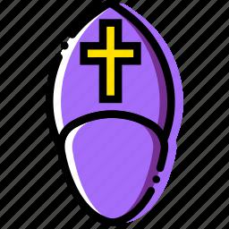 belief, faith, pope, pray, religion icon