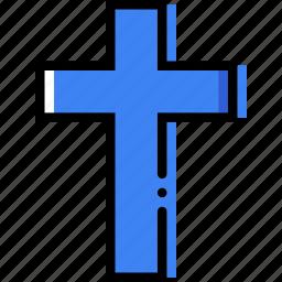 belief, catolic, cross, faith, pray, religion icon