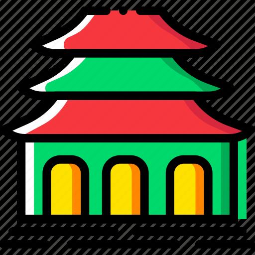belief, buddhist, faith, pray, religion, temple icon