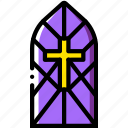 belief, cathedral, faith, pray, religion, window icon