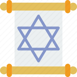 belief, document, religion, sacred, torah, worship icon