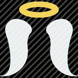 angel, belief, religion, wings, worship icon