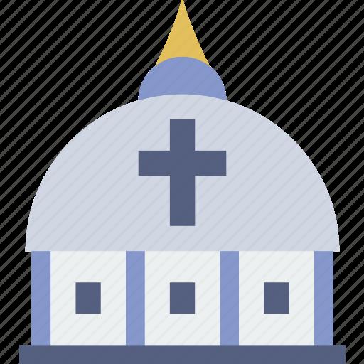 belief, catolic, church, dome, religion, vatican, worship icon