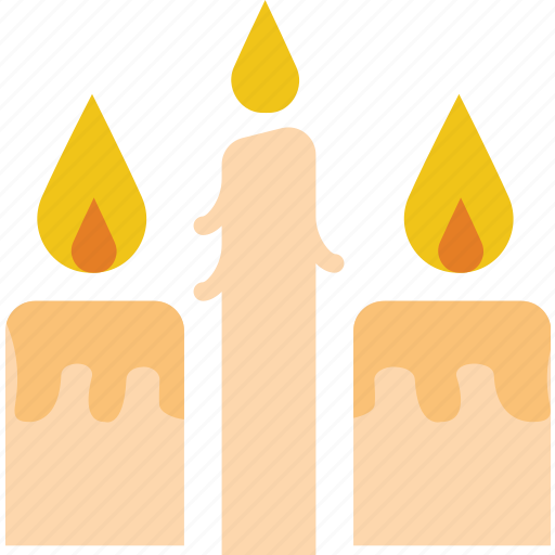 belief, candles, fire, religion, rite, worship icon