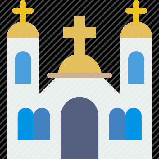 belief, catolic, church, monastery, religion, worship icon