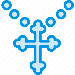 belief, church, cross, religion, worship icon