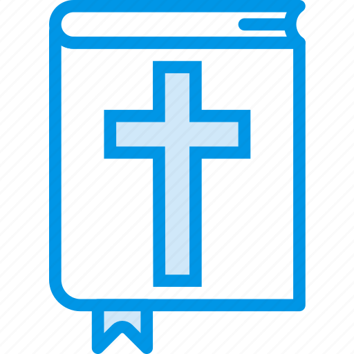 belief, bible, book, cross, religion, worship icon
