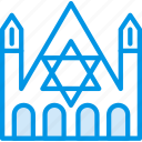 belief, building, church, judaic, religion, worship icon