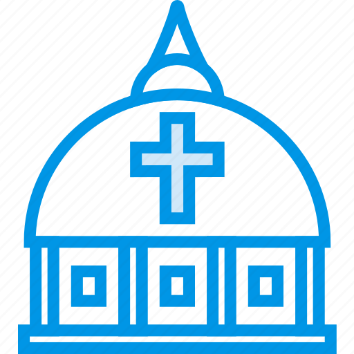 belief, church, dome, religion, vatican, worship icon