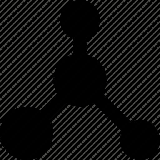 atoms, laboratory, research, science icon