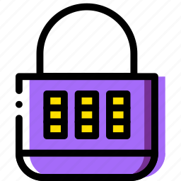 combination, lock, safe, safety, security icon