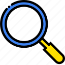 forensic, safe, safety, search, security icon