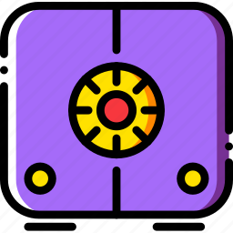 safe, safebox, safety, security icon