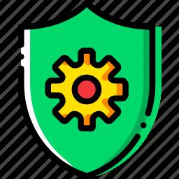antivirus, safe, safety, security, settings icon