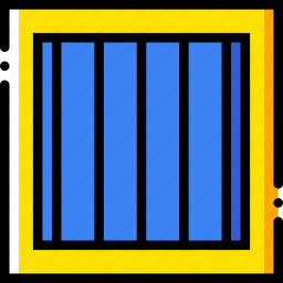 jail, safe, safety, security icon