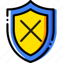 safe, safety, security, system, unprotected icon